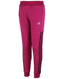 adidas Big Girls Fleece Jogger Pants