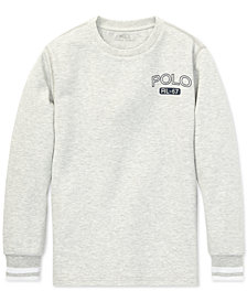 Polo Ralph Lauren Big Boys Double-Knit Graphic T-Shirt