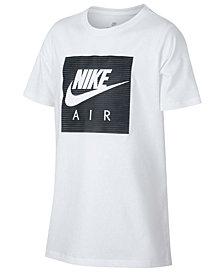 Nike Big Boys Air-Print Cotton T-Shirt