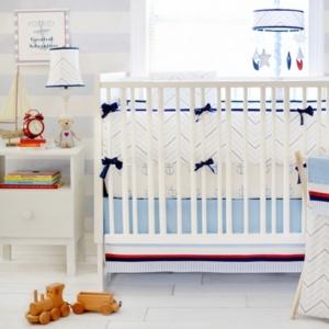 First Mate Crib Bumper...