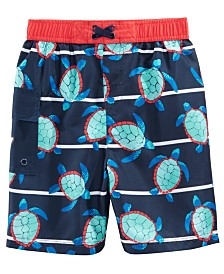 Laguna Toddler Boys Turtle Bay Swim Trunks
