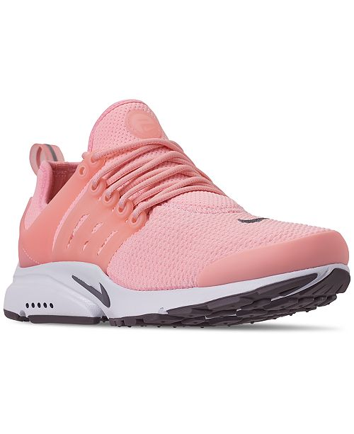 uk availability 89219 2dd16 Nike Womens Air Presto Running Sneakers from Finish ...