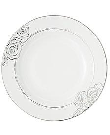 Monique Lhuillier Waterford Dinnerware, Sunday Rose Rim Soup Bowl