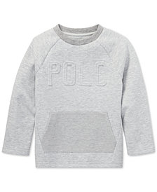Polo Ralph Lauren Toddler Boys Double-Knit Graphic T-Shirt