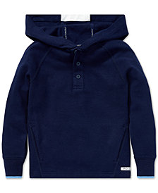 Polo Ralph Lauren Little Boys Performance Graphic Hoodie
