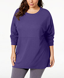Soffe Curves Plus Size Long-Sleeve T-Shirt