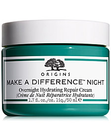 Origins Make A Difference Overnight Hydrating Repair Cream, 1.7 oz