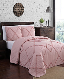 Asbury 3pc King Quilt Set