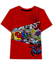 Marvel Little Boys Swingin' Spidey Graphic T-Shirt