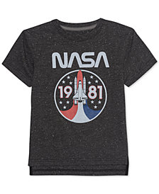 Jem Little Boys NASA Lift Off Graphic T-Shirt