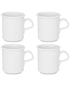 Dansk Café Blanc Mugs, Set of 4