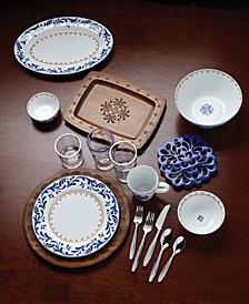 Dansk Northern Indigo Dinnerware Collection