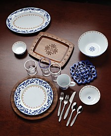 Dansk Northern Indigo Dinnerware Collection