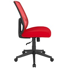 Salerno Series High Back Red Mesh Chair