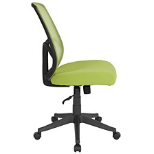 Salerno Series High Back Green Mesh Chair