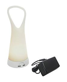 L.Idea Spirit Soft Led Portable Lamp with USB Port