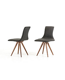 Tracer - Modern Fabric Dining Set of 2