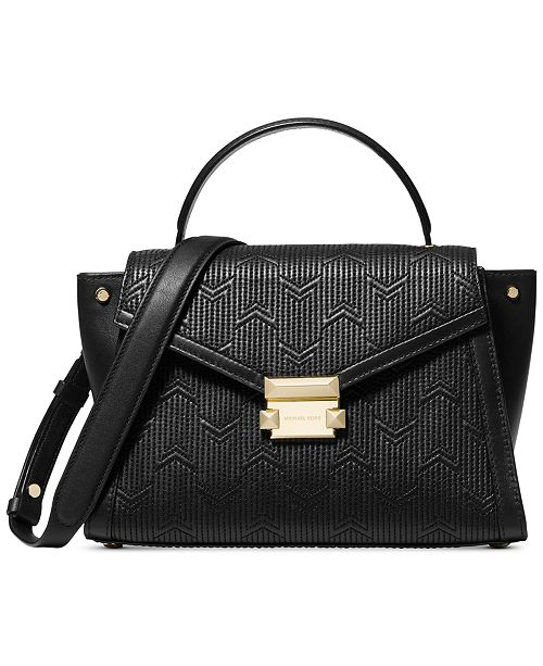 83b3af4da0 Michael Kors Whitney Quilted Top-Handle Satchel   Reviews - Handbags ...