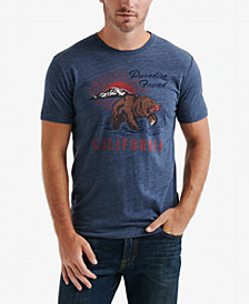 Lucky Brand Men's Paradise Bear Graphic T-Shirt
