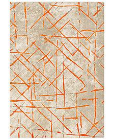 """Surya Jax JAX-5063 Burnt Orange 5'2"""" x 7'6"""" Area Rug"""