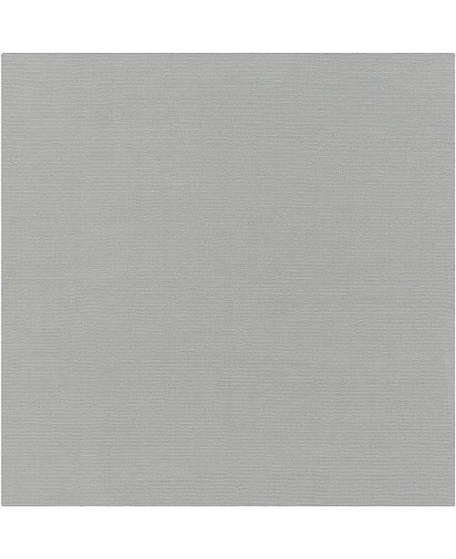 Surya Mystique M-211 Medium Gray 8' Square Area Rug