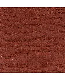 """Surya Mystique M-331 Rust 18"""" Square Swatch"""