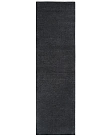 "Surya Mystique M-341 Charcoal 2'6"" x 8' Area Rug"