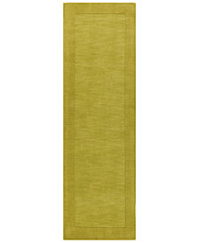 "Surya Mystique M-346 Lime 2'6"" x 8' Area Rug"