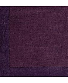 "Surya Mystique M-349 Violet 18"" Square Swatch"