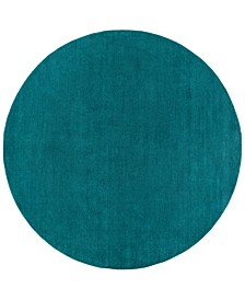 Mystique M-5330 Teal 8' Round Area Rug