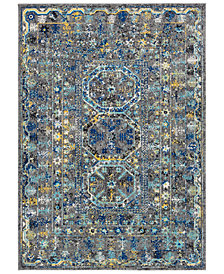 "Surya Harput HAP-1052 Medium Gray 7'10"" x 10'3"" Area Rug"