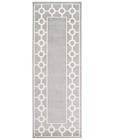 "Surya Horizon HRZ-1062 Medium Gray 2'7"" x 7'3"" Area Rug"