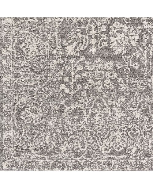 "Surya Harput HAP-1029 Gray 18"" Square Swatch"