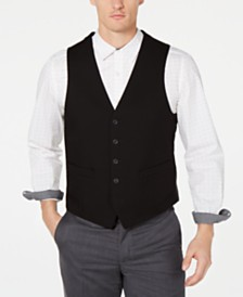 Kenneth Cole Reaction Men's Techni-Cole Slim-Fit Performance Stretch Suit Vest