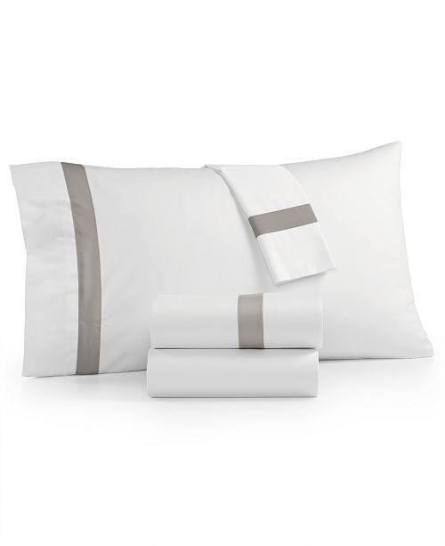 Charter Club Sleep Luxe 800 Thread Count, Fashion Hem 4-PC Full Extra Deep Sheet Set, 100% Cotton Sateen, Created for Macy's