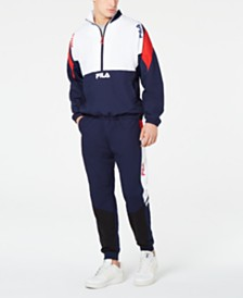 Fila Men's Colorblocked Wind Jacket & Pants