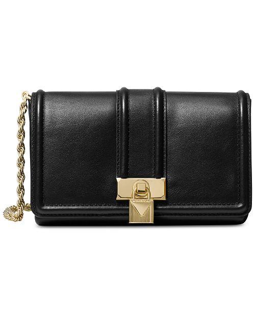 f36ce4807af8 Michael Kors Padlock Chain Crossbody   Reviews - Handbags ...