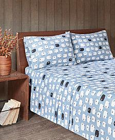 Woolrich Cotton Flannel 4-Piece King Sheet Set