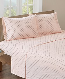 HipStyle Printed King Cotton Sheet Set