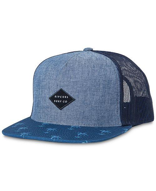 0c3b3785b2 Rip Curl Men's Palm Point Trucker Hat & Reviews - Hats, Gloves ...
