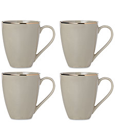 Lenox Trianna Mugs, Set of 4