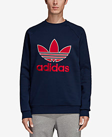 adidas Men's Originals Logo Fleece Sweatshirt
