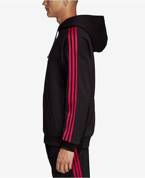 f06b9a770e2e adidas Men s Originals Fleece Three-Stripe Hoodie   Reviews ...