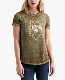 Lucky Brand Logo Graphic T-Shirt