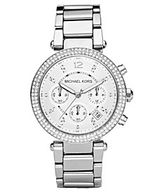 Michael Kors Women's Chronograph Parker Stainless Steel Bracelet Watch 39mm MK5353