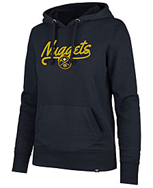 '47 Brand Women's Denver Nuggets Clean Sweep Headline Hoodie