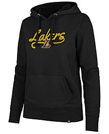 '47 Brand Women's Los Angeles Lakers Clean Sweep Headline Hoodie