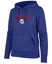 Women's Philadelphia 76ers Clean Sweep Headline Hoodie