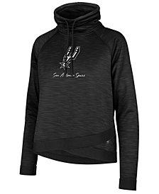 '47 Brand Women's San Antonio Spurs Commuter Funnelneck Sweatshirt