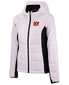 G-III Sports Women's Cincinnati Bengals Defense Polyfill Jacket
